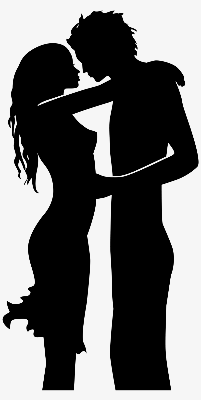 Man And Woman Silhouette, Scrapbook Images, Web Images, - Man And Woman Silhouette Png, transparent png #214907