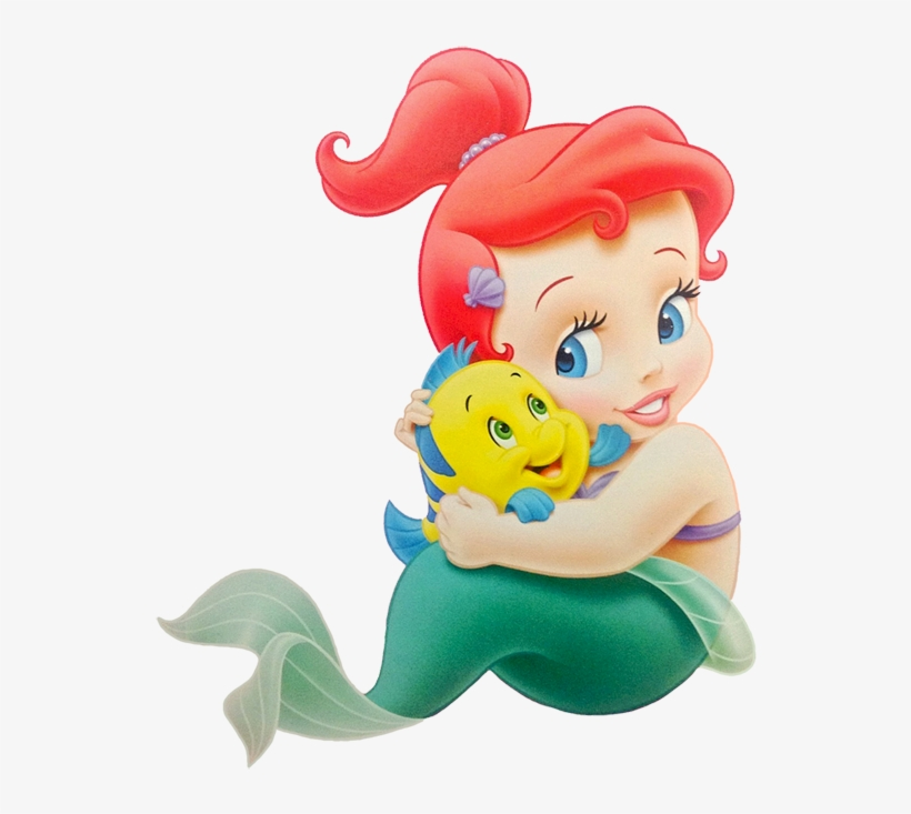 Baby Clipart Little Mermaid Baby Little Mermaid Free Transparent
