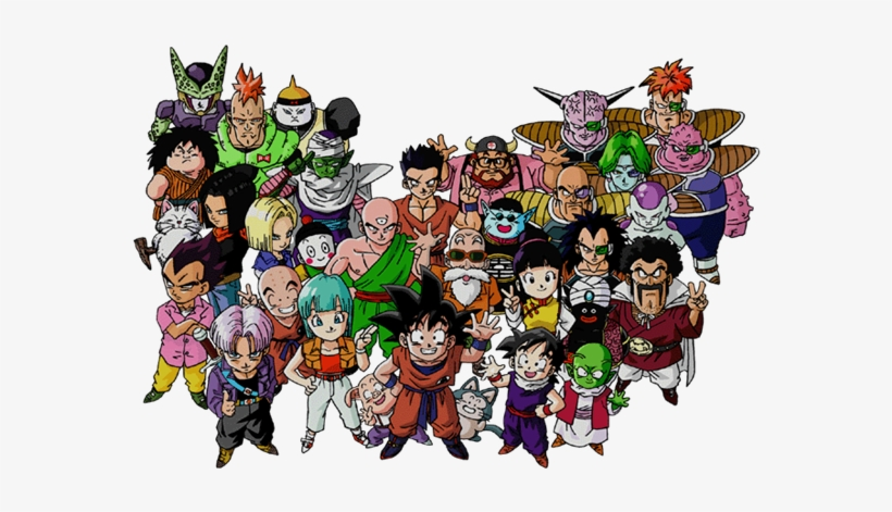 Dragon Ball Z Characters Png Image - Dragon Ball Z, transparent png #216076