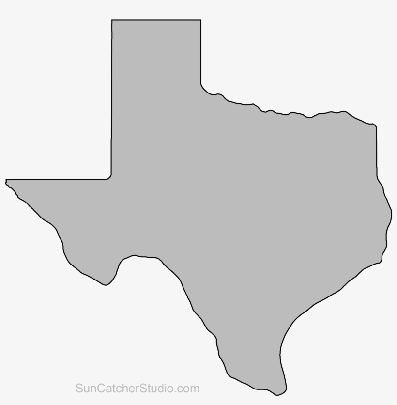 State Of Texas Map Outline.Texas Map Outline Png Shape State Stencil Clip Art Transparent