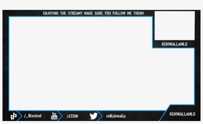 Webcam Overlay Twitch - Twitch Overlay With Webcam, transparent png #217350