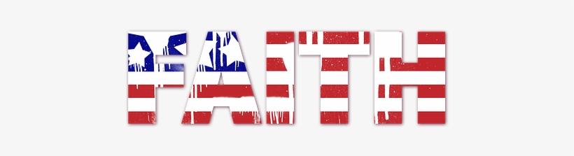 Usa Us Flag Faith Spray Paint Patriotic Am - Usa Spray Paint Flag, transparent png #217924
