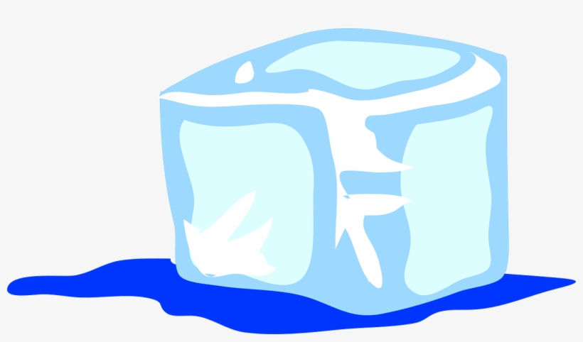 Ice Cube Frozen Water Ice Drink Cold Cool Ice Cube Clip Art