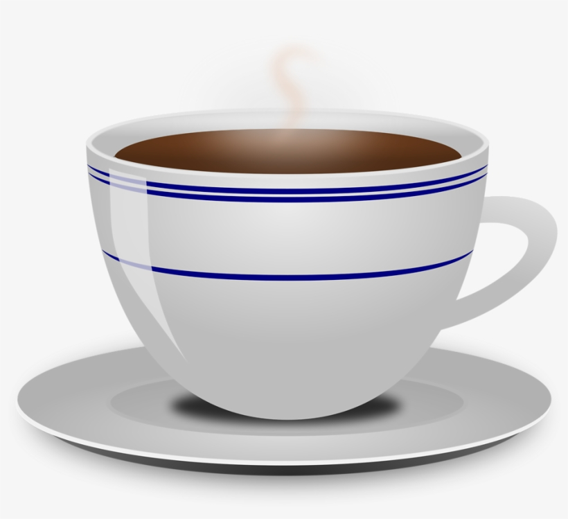 Coffee Steam No Background Clipart Cup And Saucer Clipart Free