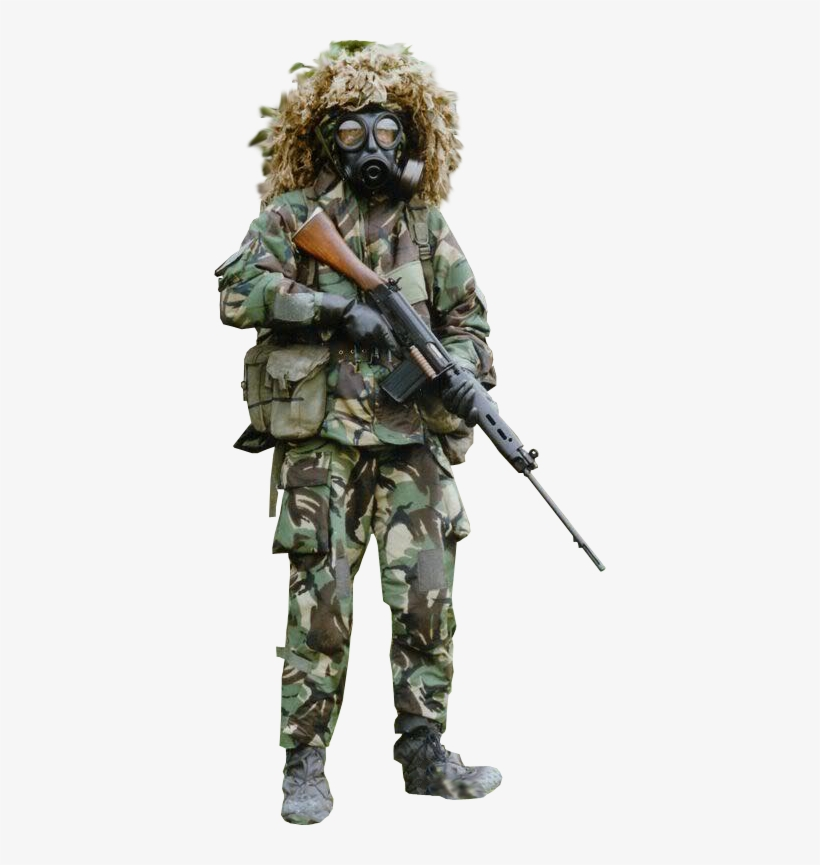 Nbc Warfare Soldier Transparent Background - Soldier - Free