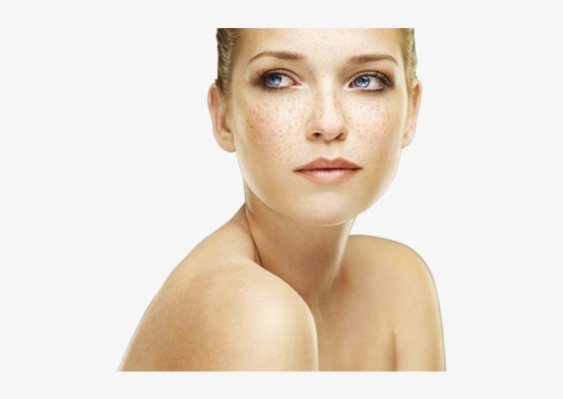 How To Work Your Freckles - Maquillage Yeux Bleus Et Tache De Rousseur, transparent png #219226