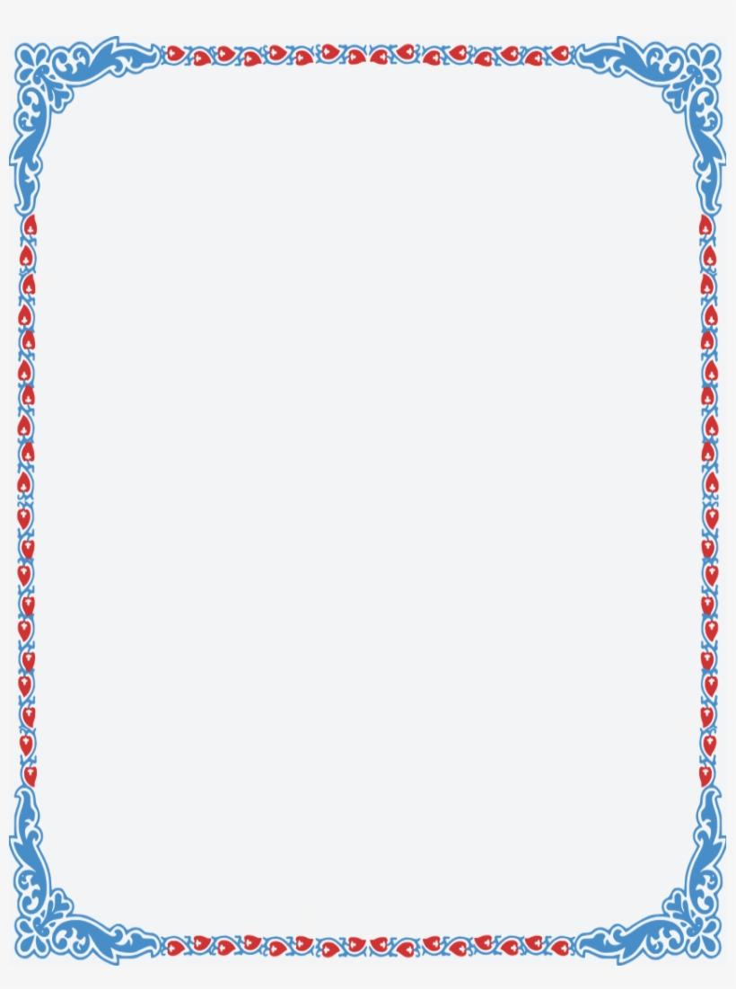 Image Result For Pretty Color Page Borders Clip Art Invitation