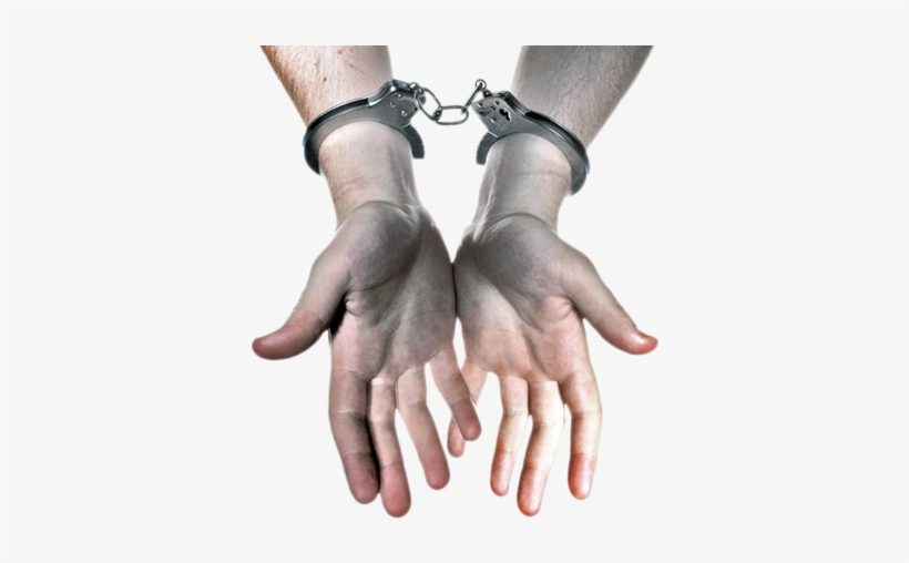 Tob Supporting2 Tob Supporting3 Hands In Handcuffs - Bail Bonds, transparent png #219425