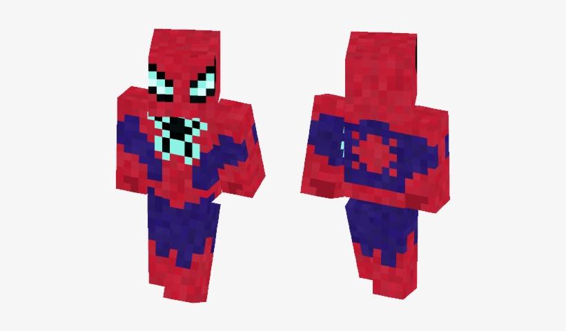 All New Spider Man [marvel Comics] - Minecraft Skin Spider Man Ps4, transparent png #2100200