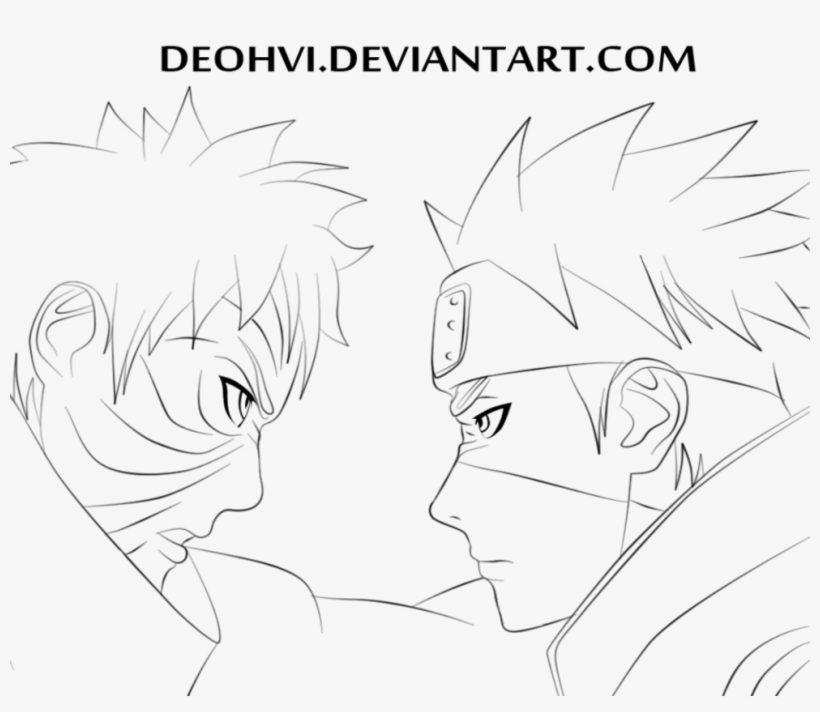 Drawing Sasuke Kakashi Boruto Uzumaki Free Transparent Png