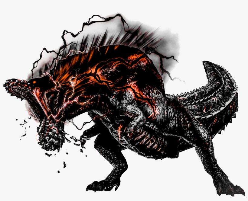 Savage Obsidian Deviljho By Chaoarren Monster Hunter Death