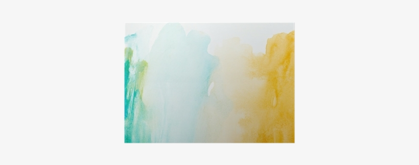Color Strokes Watercolor Painting Art Poster • Pixers® - Painting, transparent png #2103823