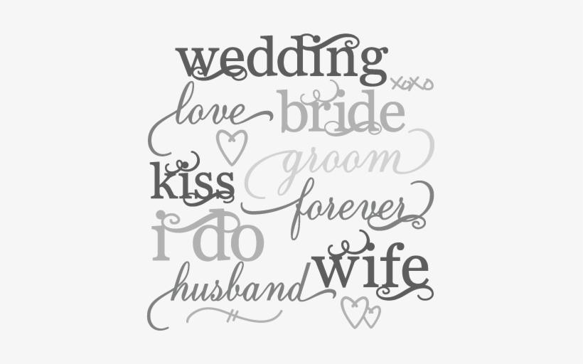 Wedding Word Png Image Background Wedding Word Art Png