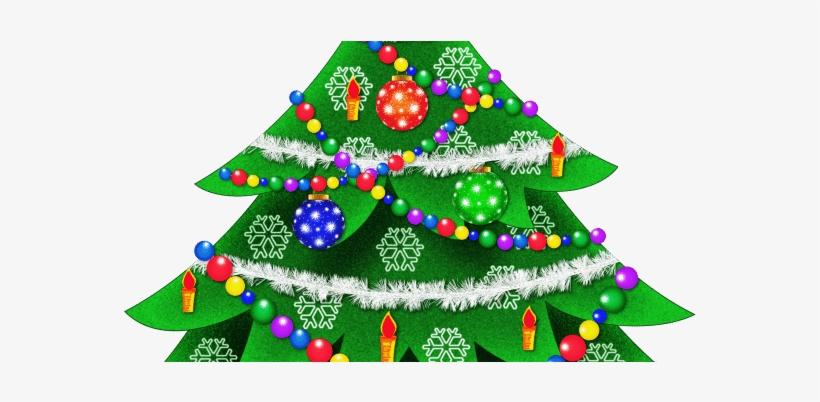 Christmas Tree - Christmas Tree Round Ornament, transparent png #2107759