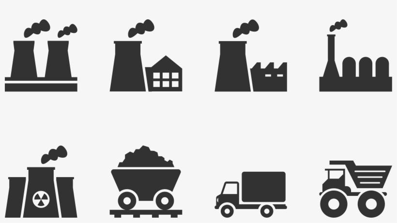 Vector Factory Car Png Transparent Download - Car Industry Icon, transparent png #2108811