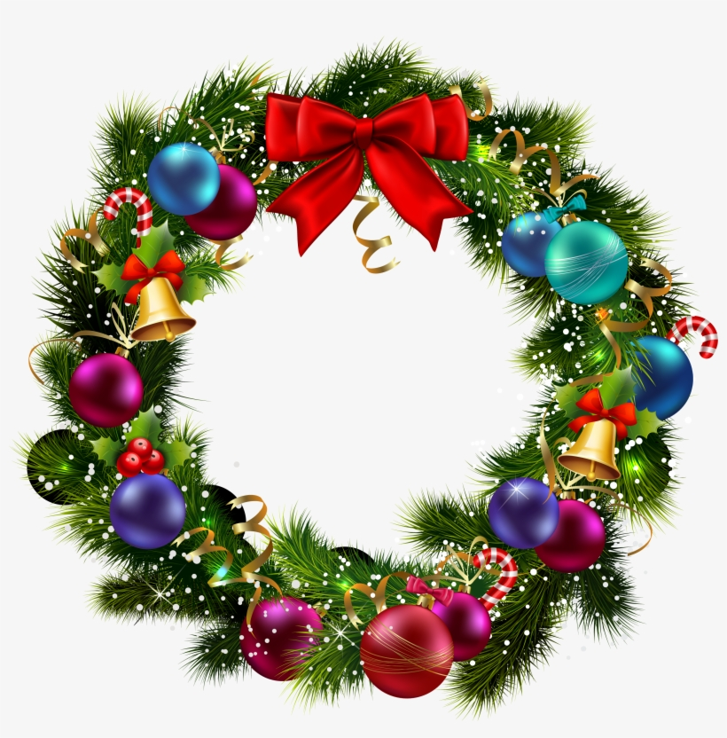 Christmas Bicycle Drop Off Location In Decatur Al - Transparent Background Christmas Wreath, transparent png #2113635