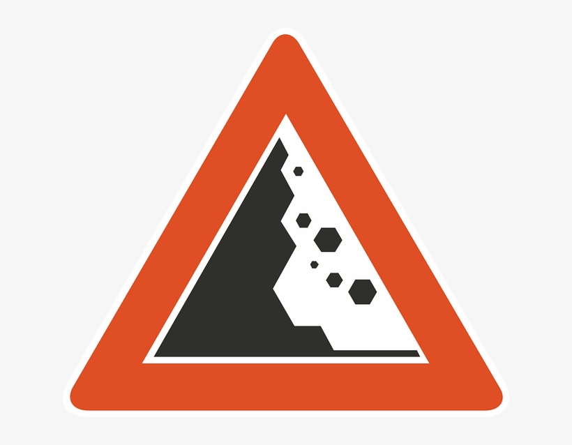 Sign, Symbol, Safety, Danger, Road, Information - Sign Of Danger On Road, transparent png #2116384