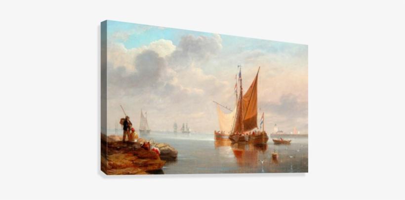 Dutch Fishing Boats Canvas Print - Dutch Fishing Boats, transparent png #2116854
