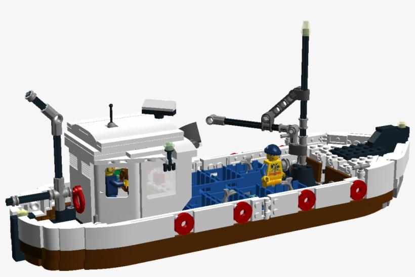 Traditional Fishing Boat - Fishing Trawler, transparent png #2117024