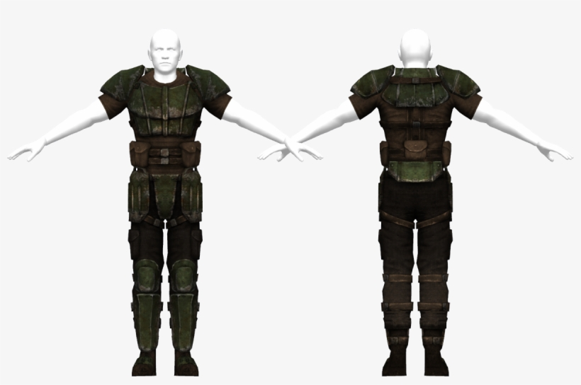 Us Army Combat Armor - Fallout New Vegas Us Army Combat Armor, transparent png #2119215