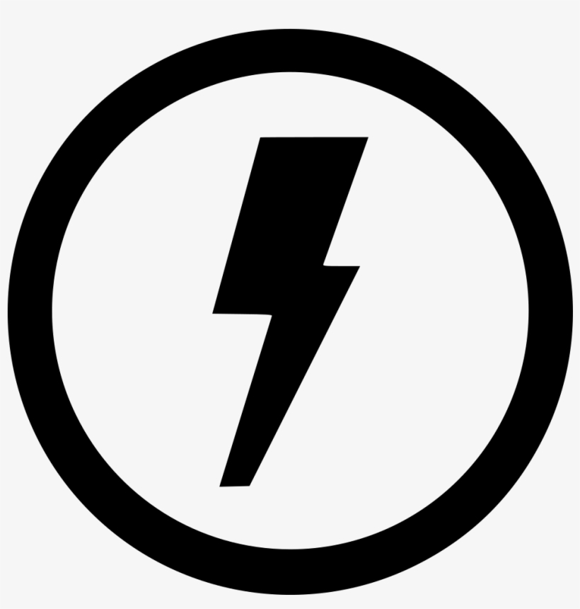 Electric Electricity Shock Round Error Notice Comments - Play Video Icon Png, transparent png #2123961