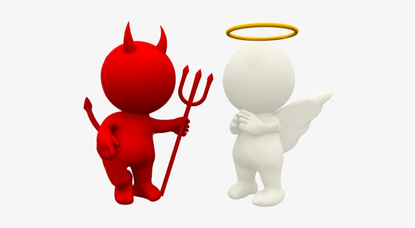 Angel clipart transparent devil - Free evil angel pictures ...