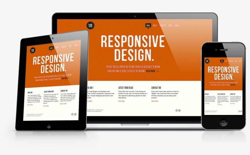 Responsive Website Design Png - Responsive Web Design 2017, transparent png #2125841