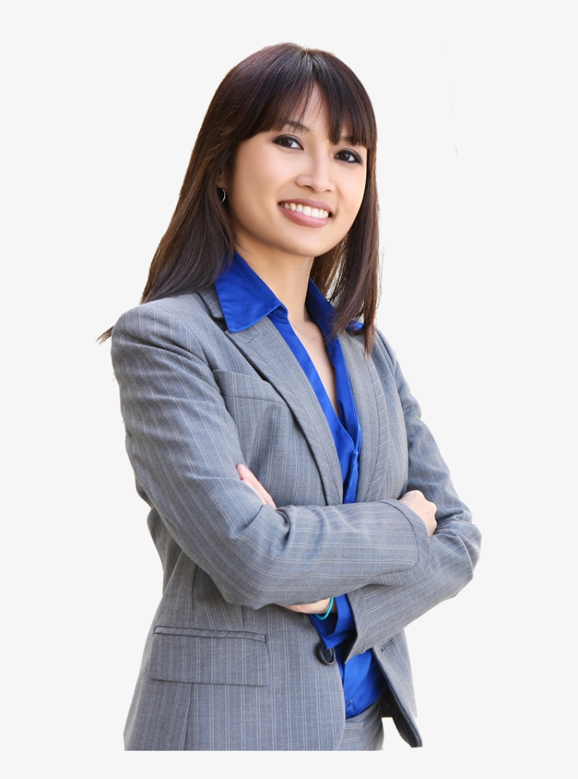 Master Of Business Administration - Asian Business Woman Png, transparent png #2125983