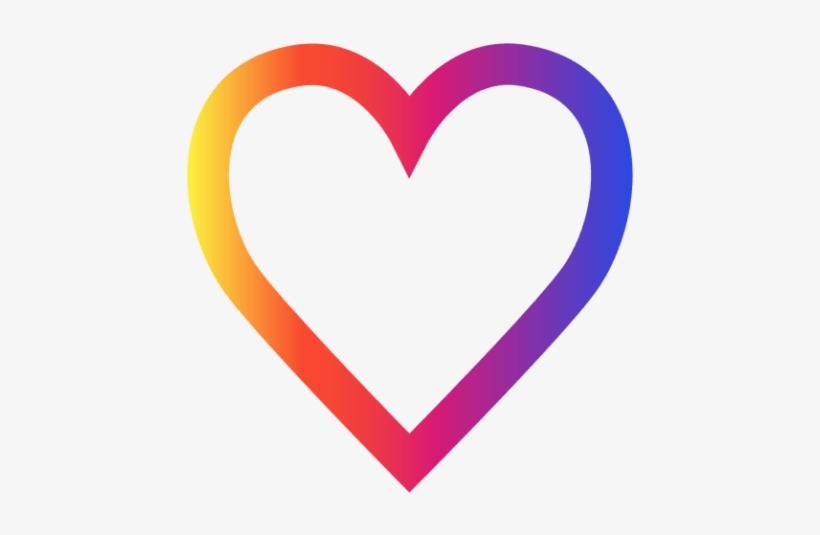 Então É Isso, Agora Você Já Sabe Que Entre Tantos Formatos - Instagram Heart Icon, transparent png #2126051