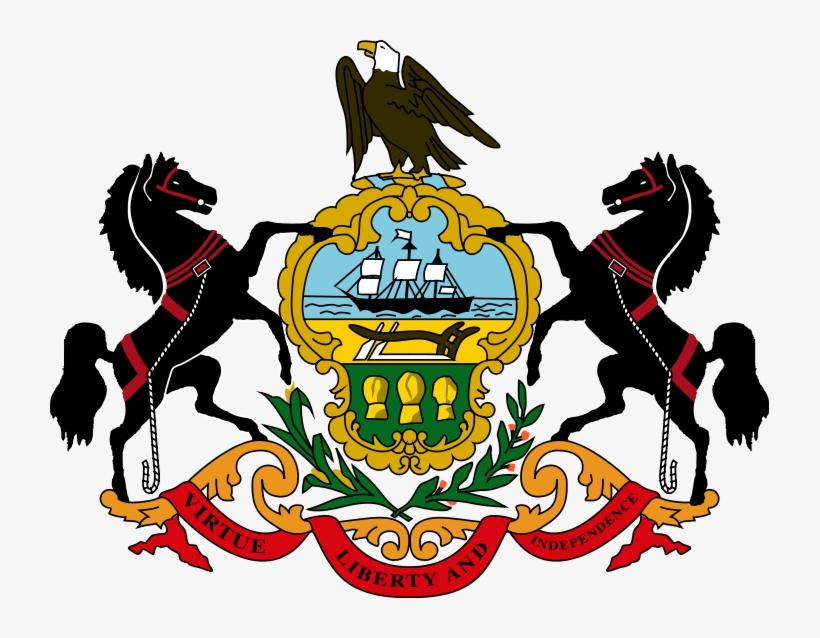 Coat Of Arms State Seal - Penn State University Emblem, transparent png #2128075
