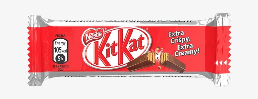 Kitkat® 2 Finger Milk Chocolate Wafer - Kit Kat 2 Finger 36, transparent png #2131640