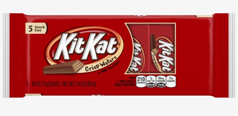 Kit Kat, Crisp Wafer Milk Chocolate Candy Bars Snack - Kit Kat, King Size - 24 Pack, 3 Oz Bars, transparent png #2131687