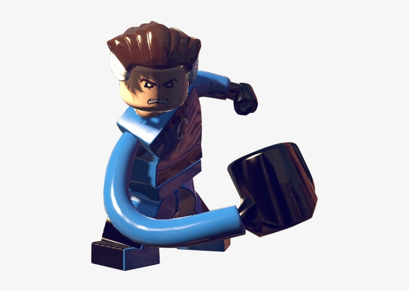 Reed Richards From Lego Marvel Super Heroes 0001 - Png Human Torch Lego Marvel Superheroes, transparent png #2132113