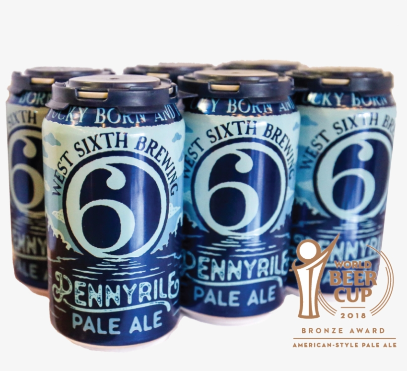 Pennyrile Website Bronze-01 - West Sixth Ipa - West Sixth Brewing Company, transparent png #2132289