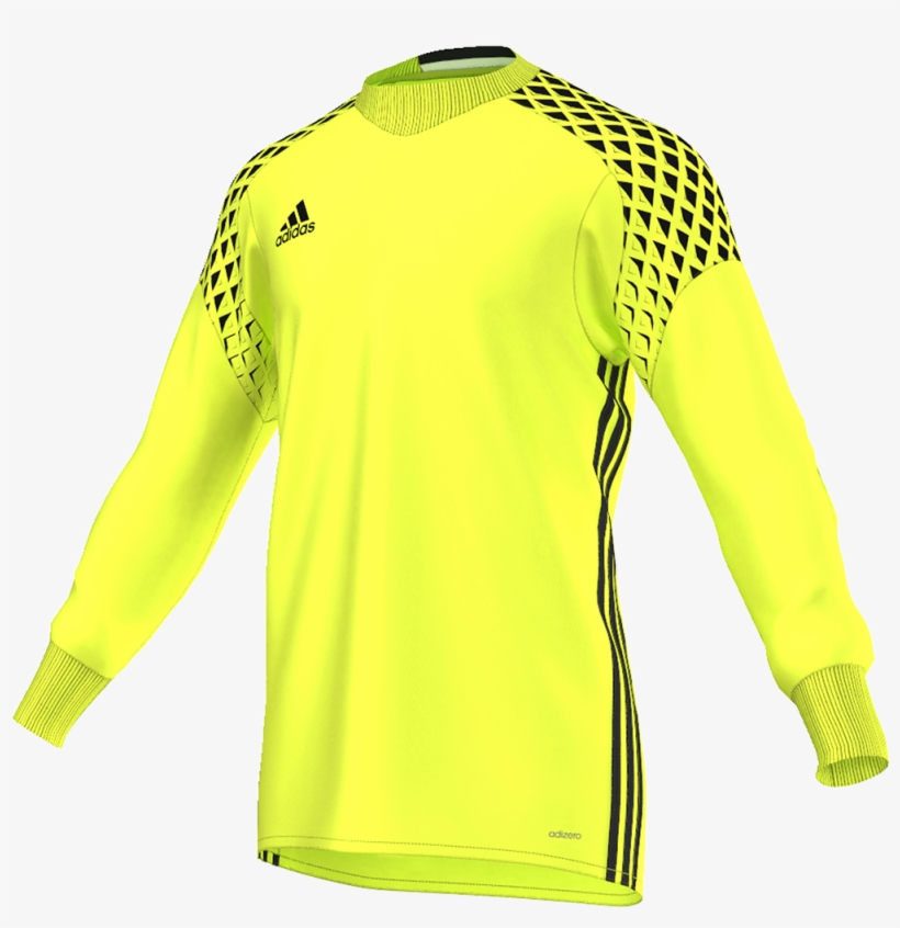 Adidas Onore 16 Youth Goalkeeper Jersey - Adidas Goalkeeper Jersey 2017, transparent png #2133224