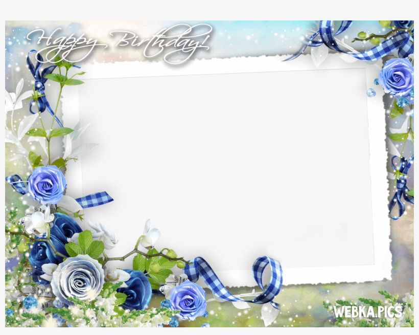 Birthday Photo Frame Png Page 7 Design Reviews - Happy Birthday Frame In Hd, transparent png #2133350
