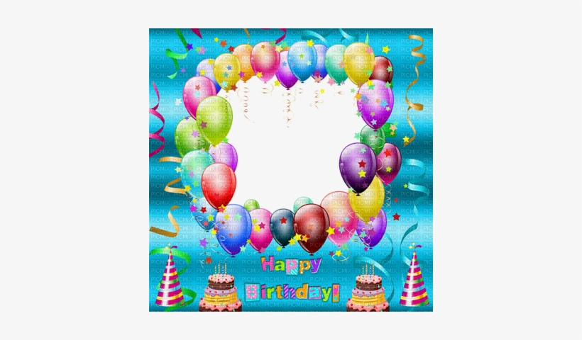 Birthday Frame Png - Happy Birthday Wishes Frame Png, transparent png #2133744