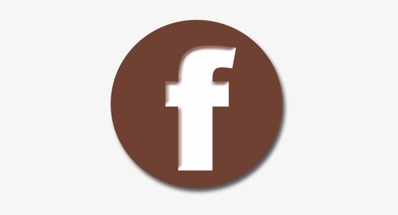 Like Us On Facebook - Brown Facebook Icon Png, transparent png #2134595