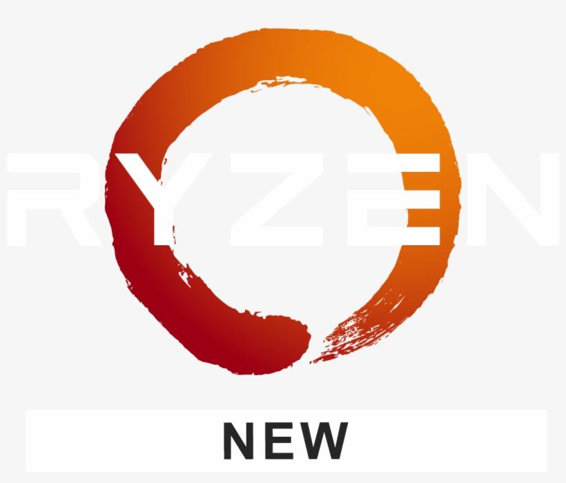 Amd Ryzen Logo White Amd Ryzen Logo Png Free Transparent Png Download Pngkey