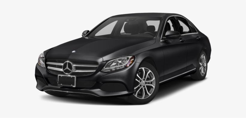 2017 Mercedes Benz C Class - C Class 2016 Black, transparent png #2136998