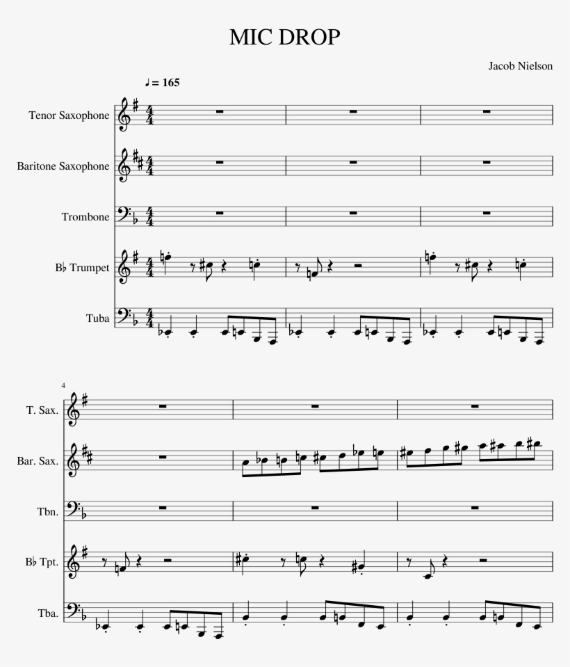 Wake Me Up Before You Go Sheet Music Composed By Calvinette