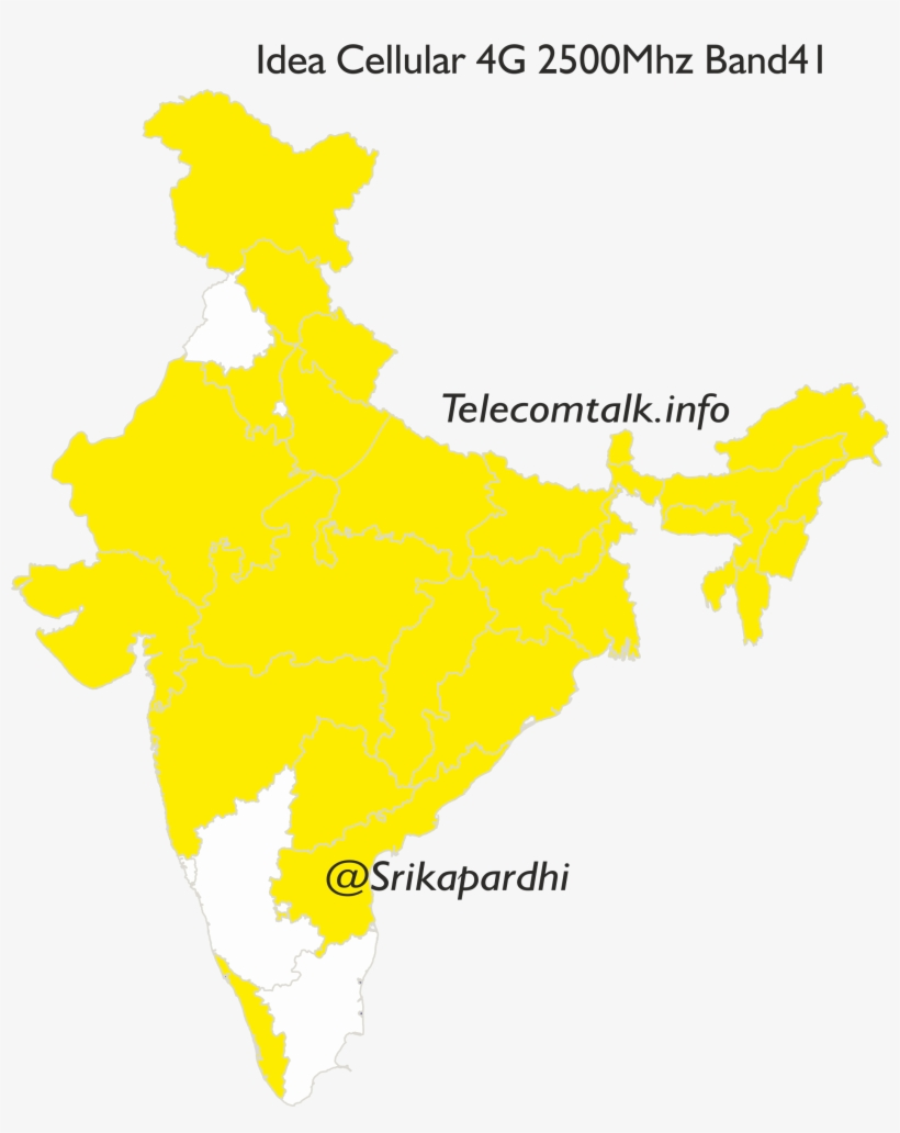 Idea 4g - Ankleshwar In India Map, transparent png #2139639