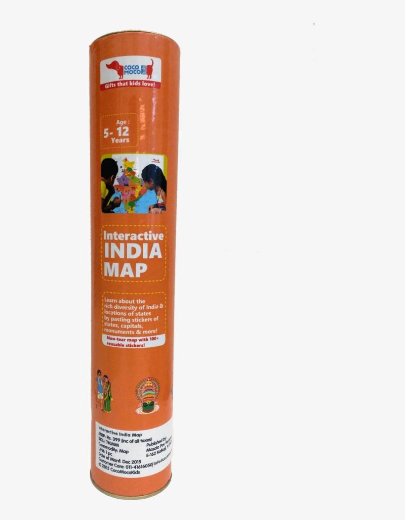 Cocomoco Kids- Interactive India Map - Interactive India Map
