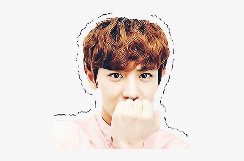 Png Royalty Free Download Chanyeol Drawing Lip - Exo - Free