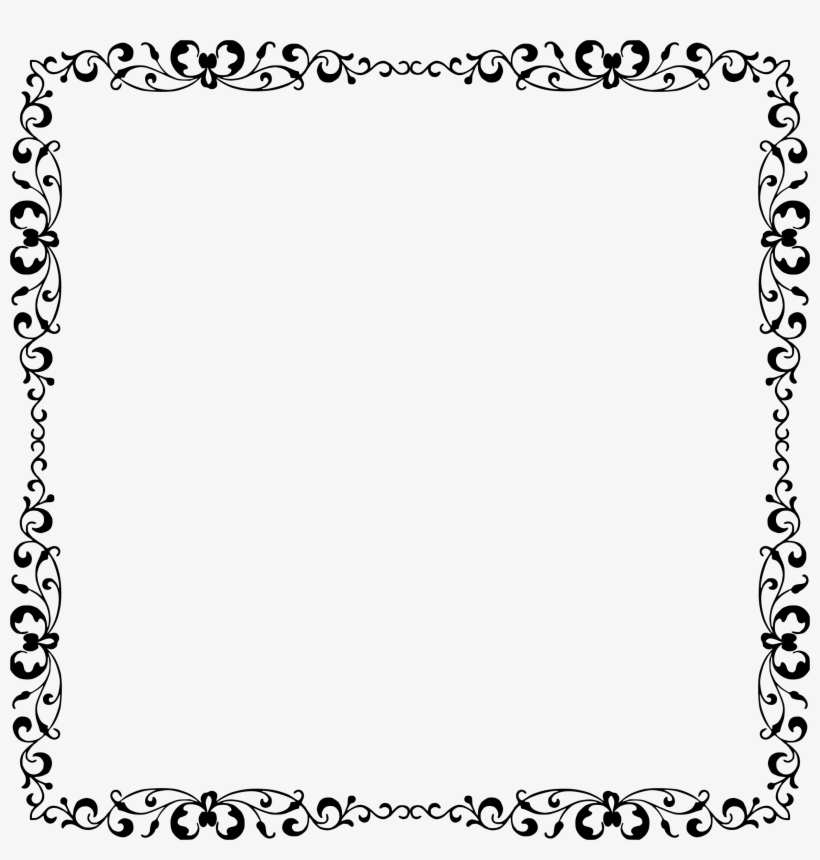 Fancy Page Borders Png - Elegant Frames Png - Free