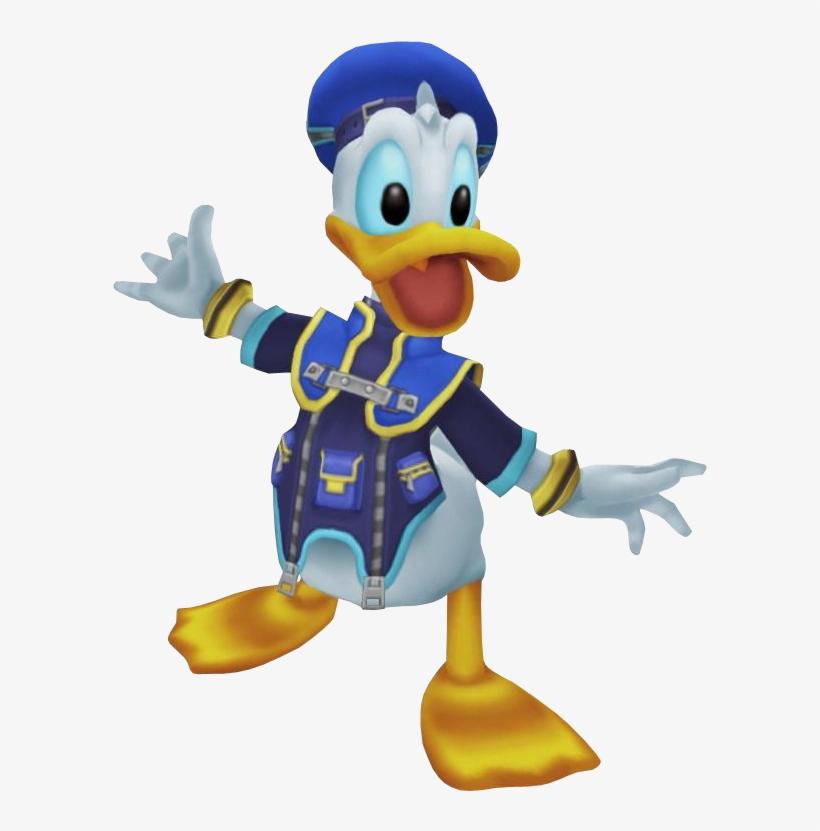 Donald Duck - Disney Kingdom Hearts Donald Duck, transparent png #2147268