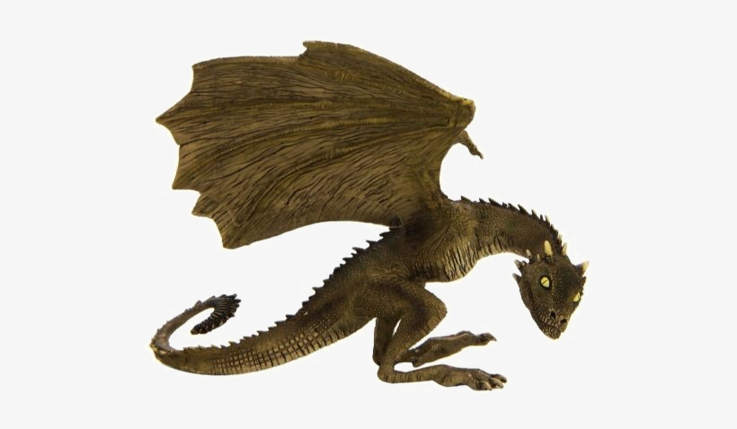 Rhaegal Dragon Png High-quality Image - Game Of Thrones - Rhaegal Baby Dragon Statue, transparent png #2147823