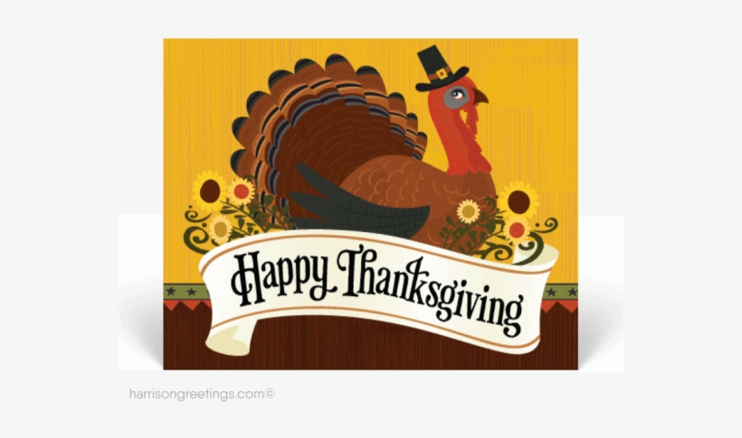Traditional Happy Thanksgiving Postcards - Happy Thanksgiving Balloon - Turkey Time Orbz, transparent png #2149692