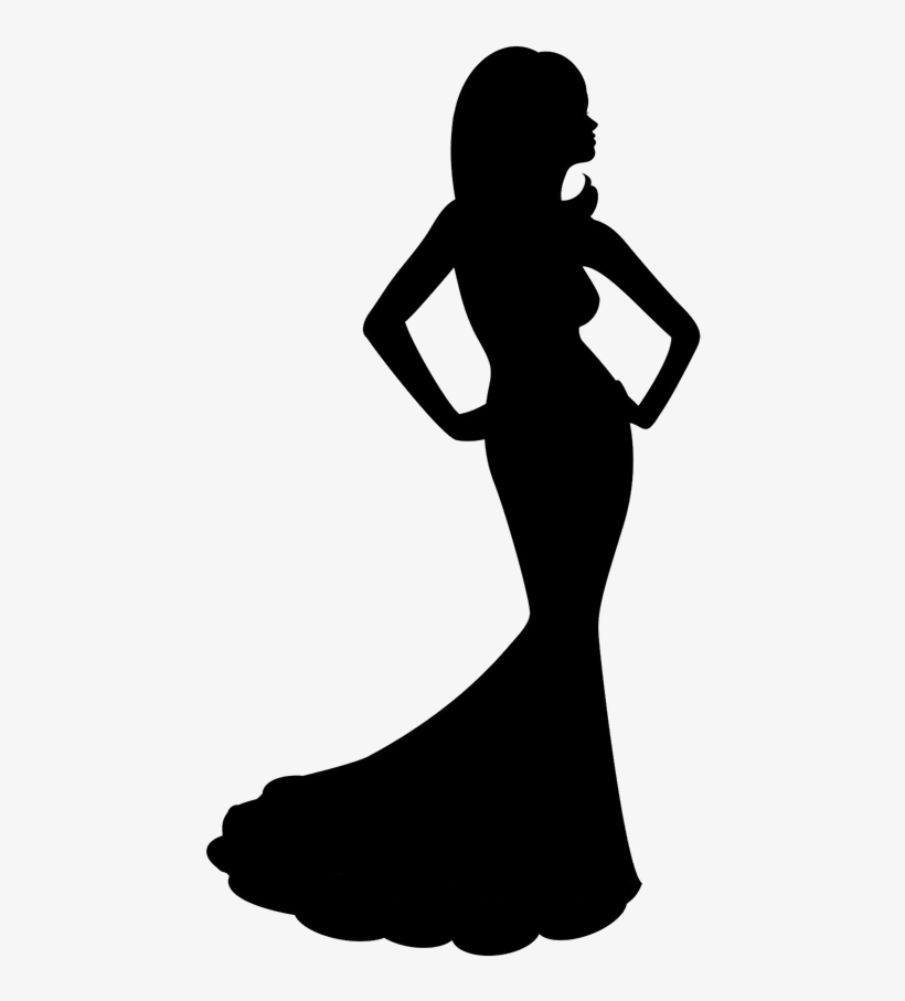 Black And White Download Beauty Pagent Clipart Pageant