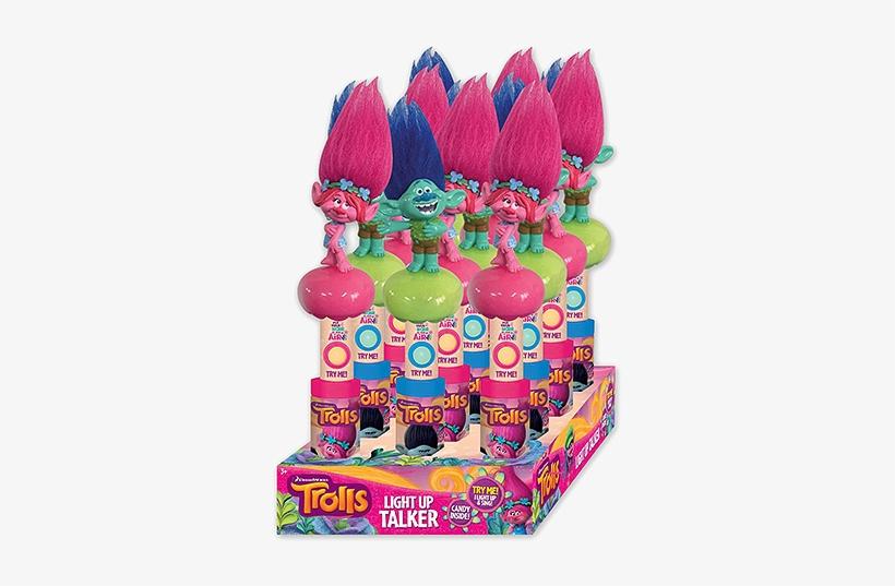 Dreamworks Trolls Character Light & Sound Wand Candy - Trolls Light Up Talker, transparent png #2152235